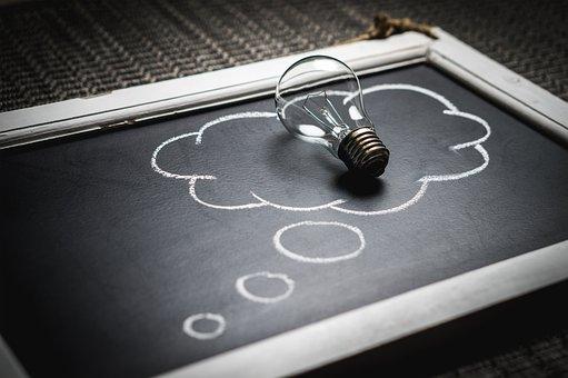 Thought, Idea, Innovation, Imagination, Inspiration