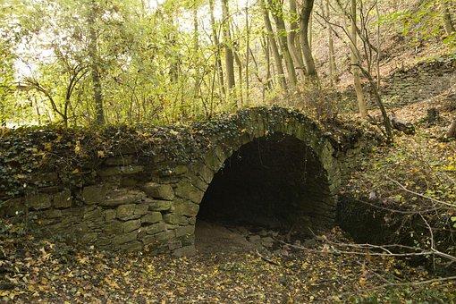 Tunnel, Forest, Trail, Lahnstein, Ruppertsklamm