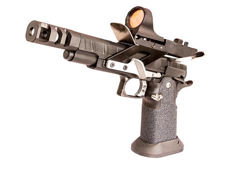 Handgun, Open Gun, Uspsa, 38sc, Gun, Pistol, Crime