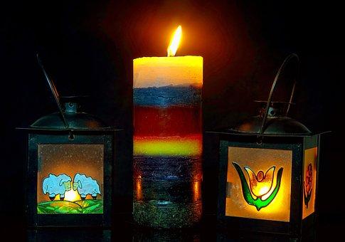 Candles, Wax, Wax Candle, Tealight, Decoration, Mood
