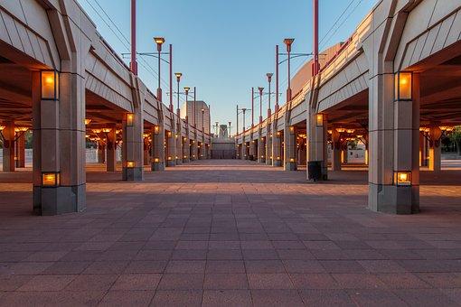 Bridge, Overpass, Phoenix, Arizona, Transportation