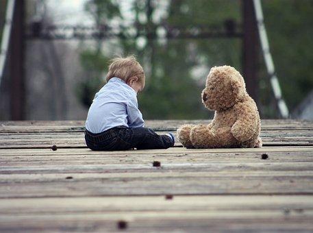 Baby, Teddy, Bear, Cute, Child, Small, Boy, Sweet