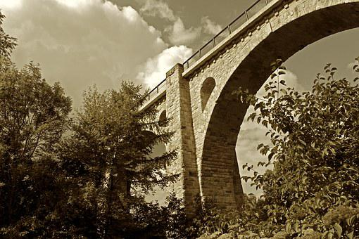 Bridge, Old Bridge, Arch, Historically, Architecture
