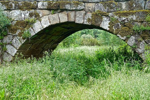 Bridge, Crossing, Old, Construction, Stone, Arch
