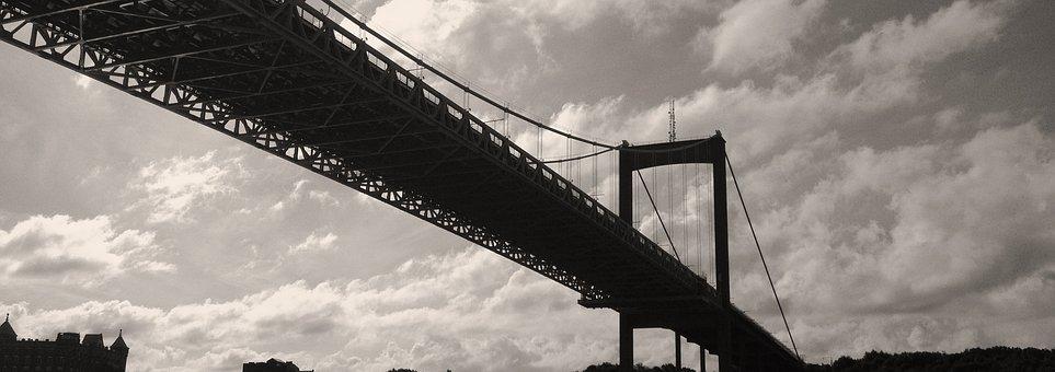 Gothenburg, Gota River Bridge, Bro, Suspension Bridge