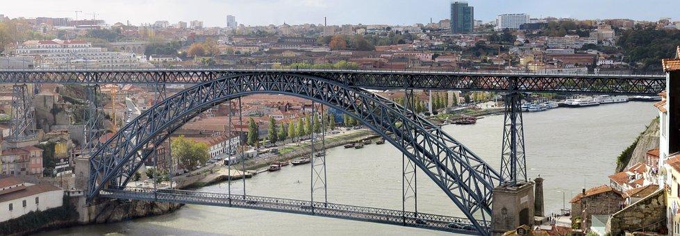 Porto, Ponte Maria Pia, Eiffel, Gustave Eiffel