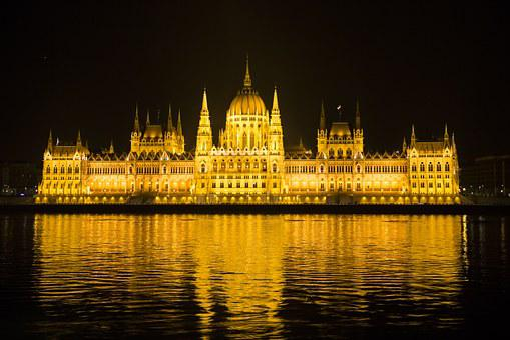 Budapest, Hungary, Parliament, Building, Palace
