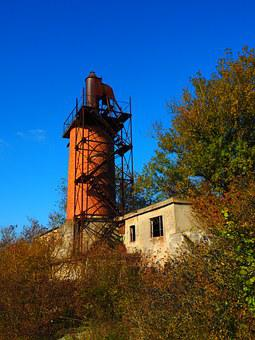 Lime Kiln, Shaft Furnace, Fireplace, Industrial Plant