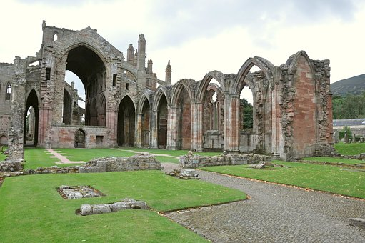 Melrose Abbey, United Kingdom, Scotland