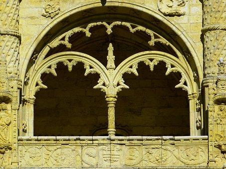 Mosteiro Dos Jerónimos, Jeronimo Monastery, Window