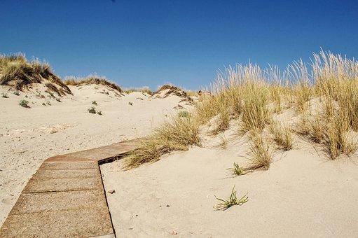 Path, Road, Unknown, Sand, Dessert, Beach, Nature