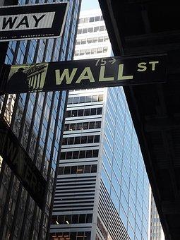 New York City, Wall Street, Stock Market, Manhattan