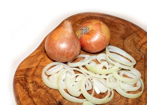 Onion, Cutting Board, Food, Vegetables