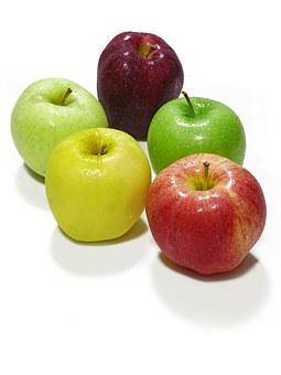 Apples, Fruit, Food, Healthy, Organic, Fresh, Natural