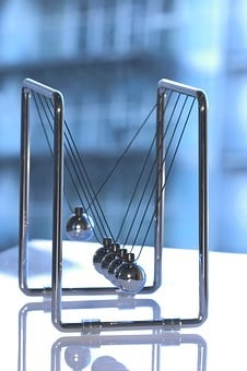 Newton's Cradle, Physics, Sphere, Pendulum, Business