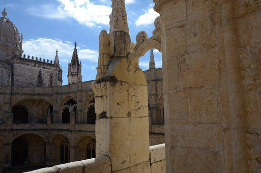 Monasteries Of Jeronimos, Lisbon, Portugal, Trip