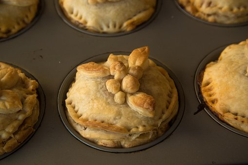 Meat Pie, Puff Paste, Flaky Pastry, Puff Pastry, Food