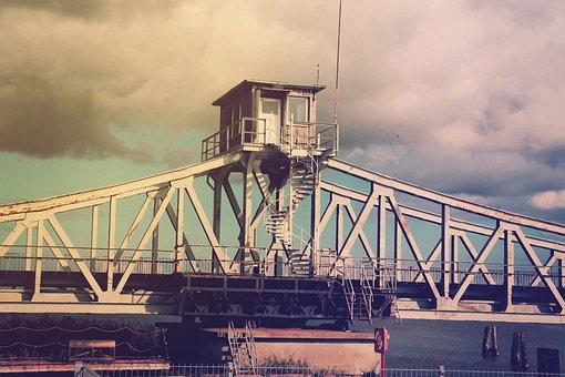 Bridge, Railway Bridge, Railway, Architecture