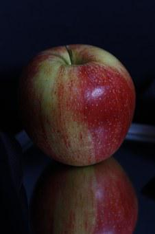 Apple, Red, Yellow, Green, Fruit, Late Summer, Autumn
