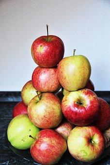 Apple, Apple Mountain, Rotbäckig, Healthy