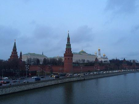 Moscow, The Kremlin, Kremlevskaya Embankment, Russia