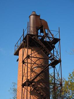 Lime Kiln, Shaft Furnace, Fireplace, Industrial Plant