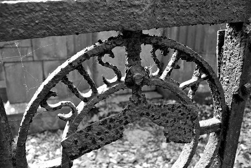 Iron, Rust, Metal, Metalwork, Steel, Metallic, Texture