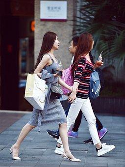 Street Photography, Fashion Girl, China, Girls