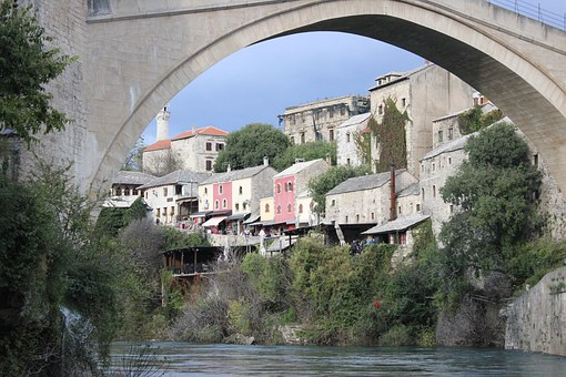 Mostar, Bridge, Bosnia, Herzegovina, Unesco, Tourism