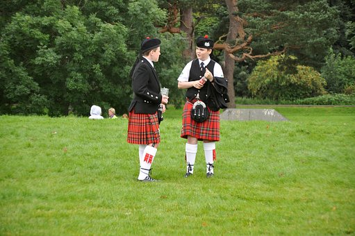 Two Scotsmen, Scots, United Kingdom, Scotland