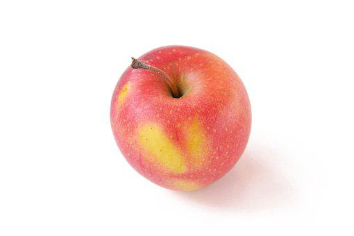 Apple, Fruit, Red Apple, Closeup, Nature, Yellow, Red