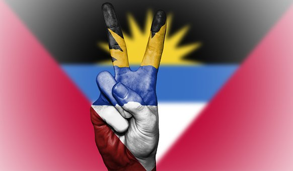 Antigua And Barbuda, Peace, Flag, Antigua, Barbuda