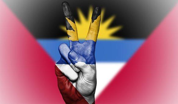 Antigua And Barbuda, Peace, Flag, Antigua, Barbuda