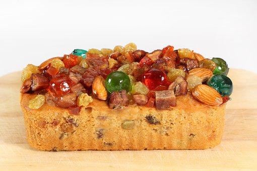Mixed Fruit Cake, Cake, Bread, Mixed Fruits, Delicious