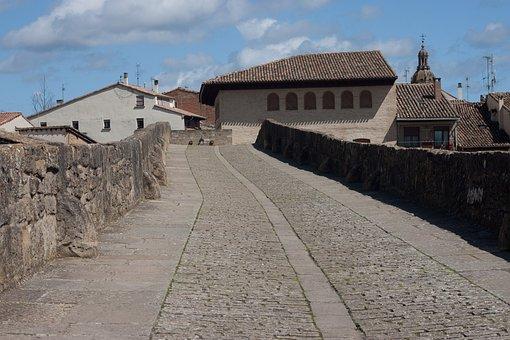Stone Bridge, Bridge, Andalusia, Jakobsweg, Spain