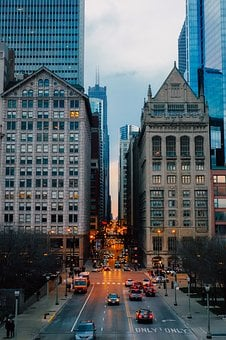 Chicago, Illinois, City, Urban, Buildings, Skyscrapers