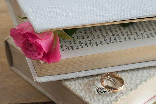 Book, Canvas Artwork, Old Book, Love Story