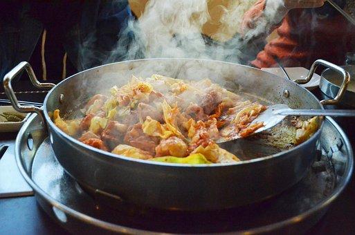 Cooking, Korea Food, Chicken Chops