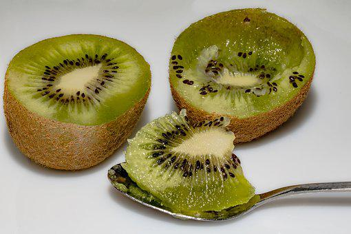 Kiwi, Kiwi Halves, Chinese Gooseberry