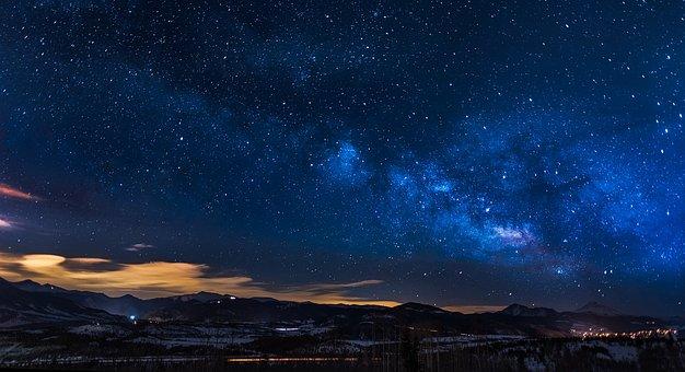 Colorado, Sky, Clouds, Sunset, Dusk, Panorama