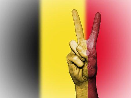 Belgium, Flag, Peace, Background, Banner, Colors
