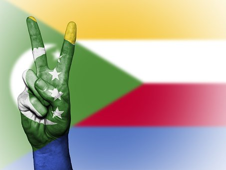Comoros, Nation, Background, Banner, Colors, Country