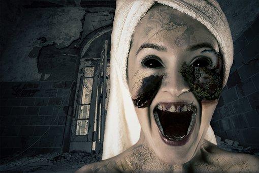 Photoshop Manipulation, Digital Art, Night, Dark