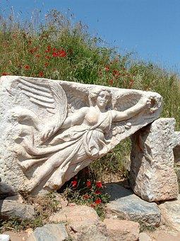 Nike, Goddess, Ephesus, Turkey, Ancient Times