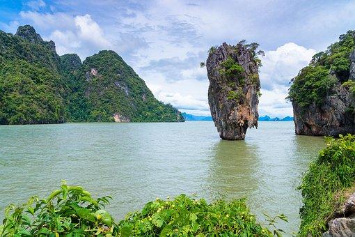 Island, Thailand, Phang Gna, James, Bond, Famous