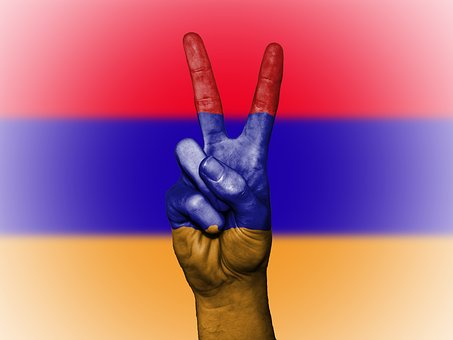 Armenia, Peace, Flag, Background, Banner, Colors