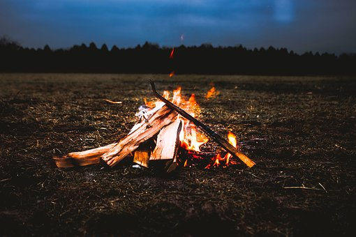 Camp, Campfire, Campsite, Camping, Fire, Flames