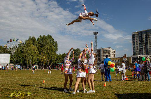 The Girl In The Air, Sports, People, Girls