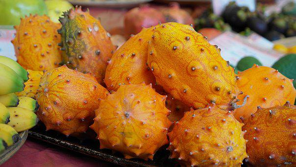 Kiwano, Fruit, Horn Cucumber, Prickly, Horn Melon