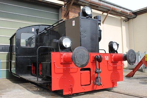 Train Garaje, Locomotive, Switcher, Loco, Railway